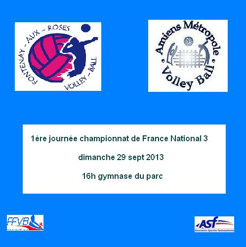1ere journe nat3 2013