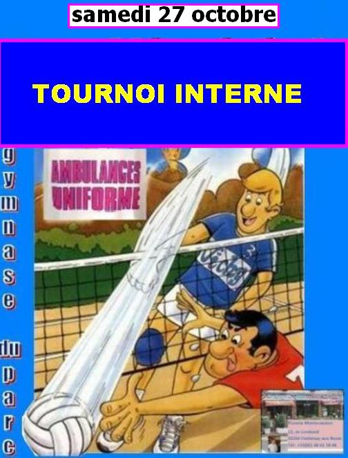 tournoi interne 27 oct